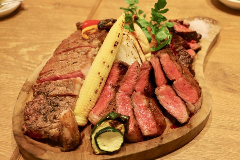 神田の肉バル RUMP CAP 新宿西口店のビーフアウトサイド(ハラミ)