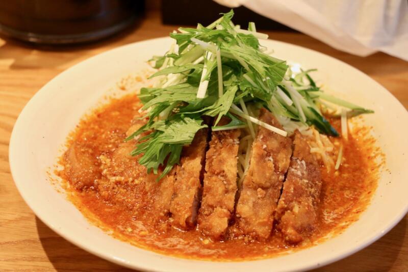 Renge no Gotoku(レンゲ ノ ゴトク)大麦三元豚 排骨冷やし担々麺