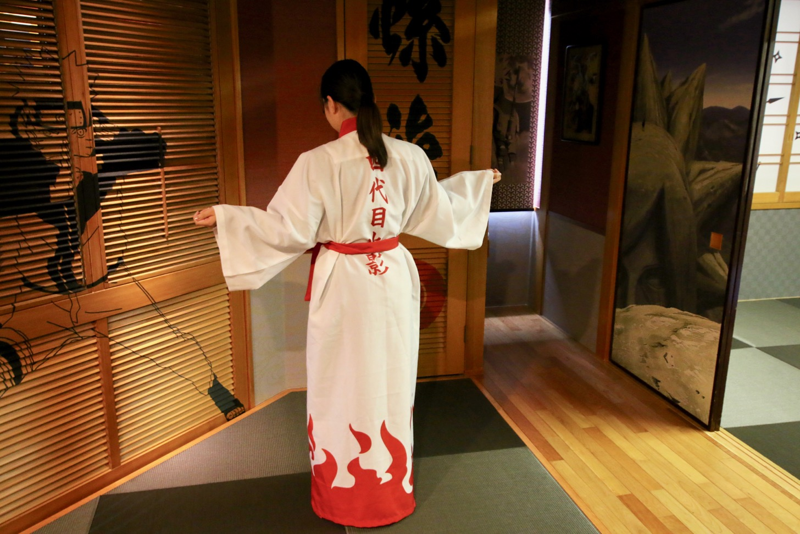 忍の間-ジャパニーズ ニンジャ スイートルーム NARUTO- 浴衣(火影)