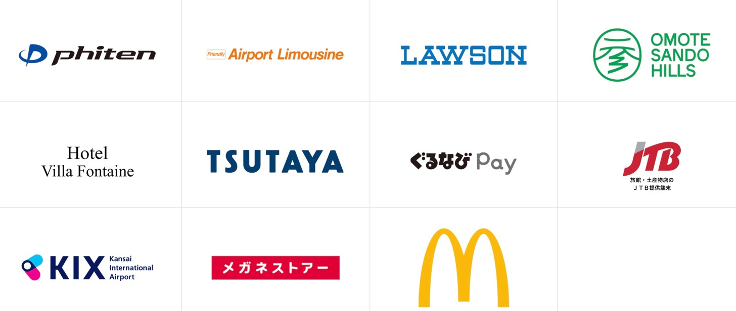"""Visa's touch payment"" can be used with Mac or Lawson"