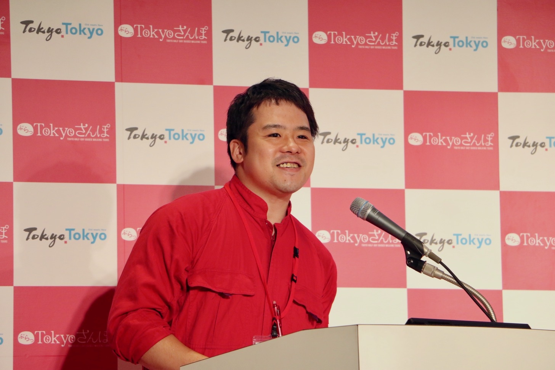 大田観光協会の小林さん