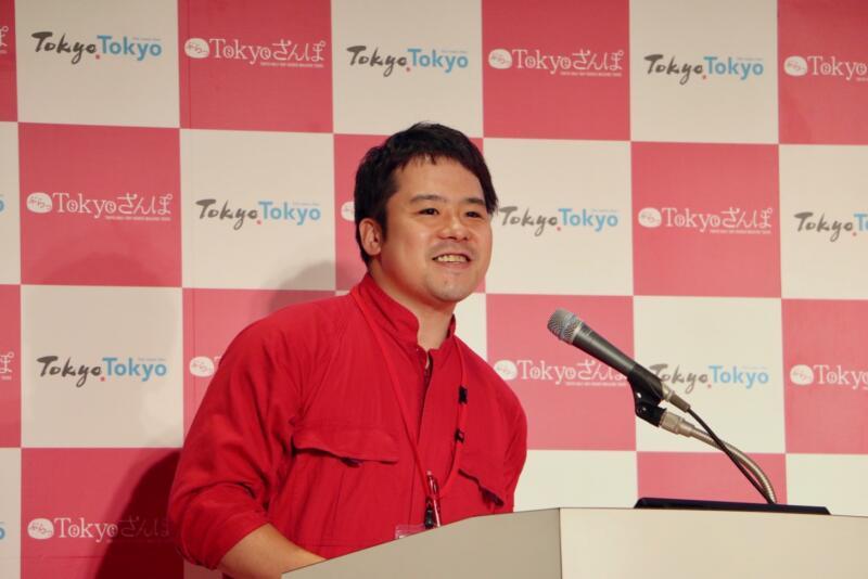 Mr. Kobayashi of Daejeon Tourism Association