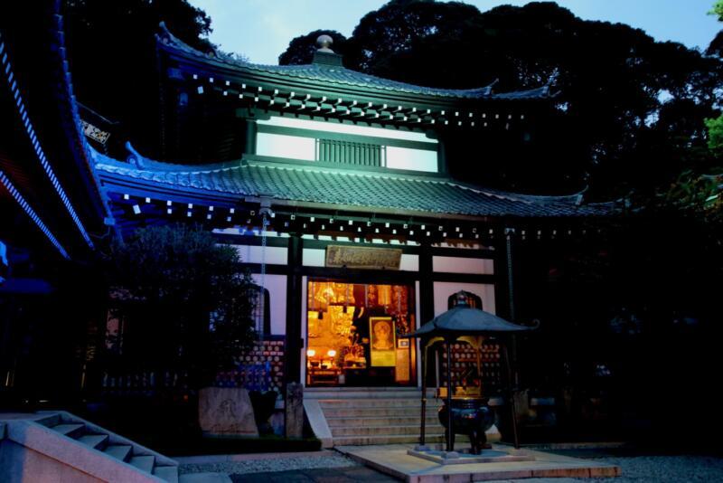 かまくら長谷の灯かり 長谷寺 阿弥陀堂