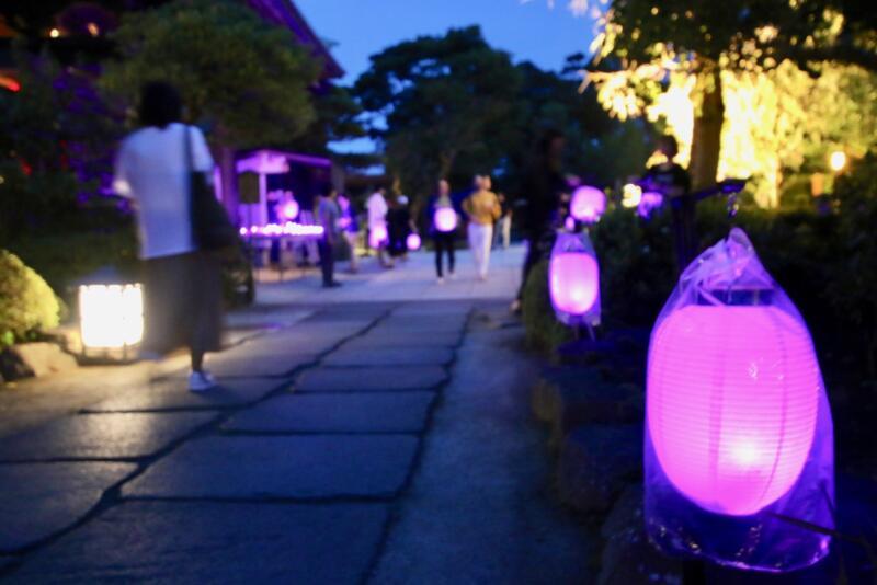 かまくら長谷の灯かり 長谷寺 境内