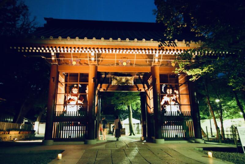 かまくら長谷の灯かり 鎌倉大仏殿高徳院 山門