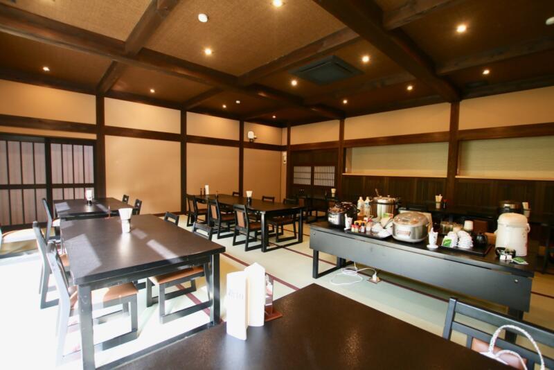 神白温泉 国元屋の朝食会場