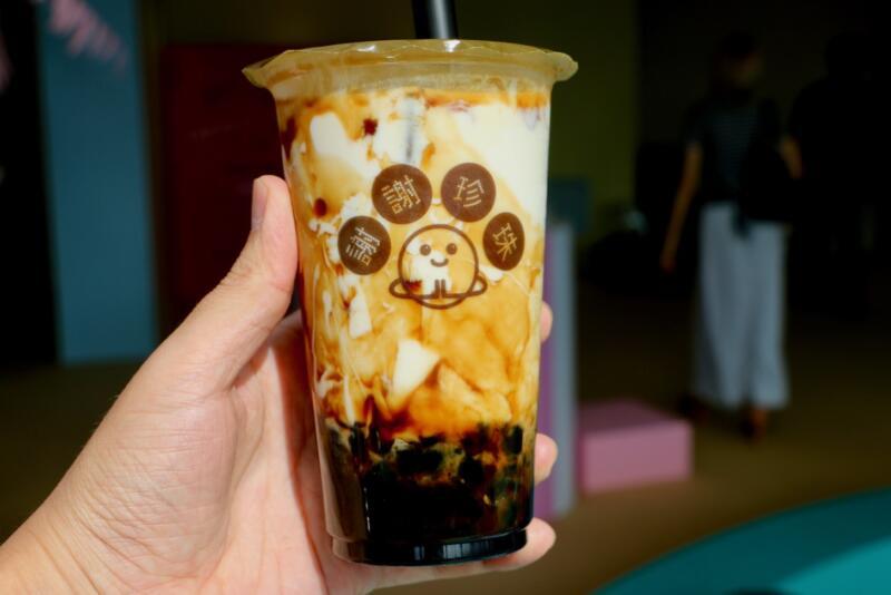 東京タピオカランド 謝謝珍珠(シェイシェイパール)極 黒糖牛乳