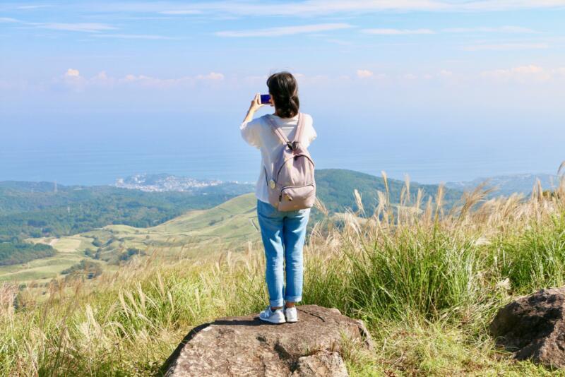 稲取細野高原で秋のすすきイベント