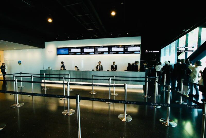渋谷スクランブルスクエアの展望台・SHIBUYA SKY(渋谷スカイ)14階 SKY GATE