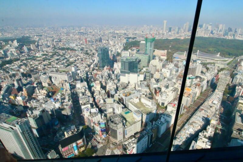 渋谷スクランブルスクエアの展望台・SHIBUYA SKY(渋谷スカイ)からの眺め