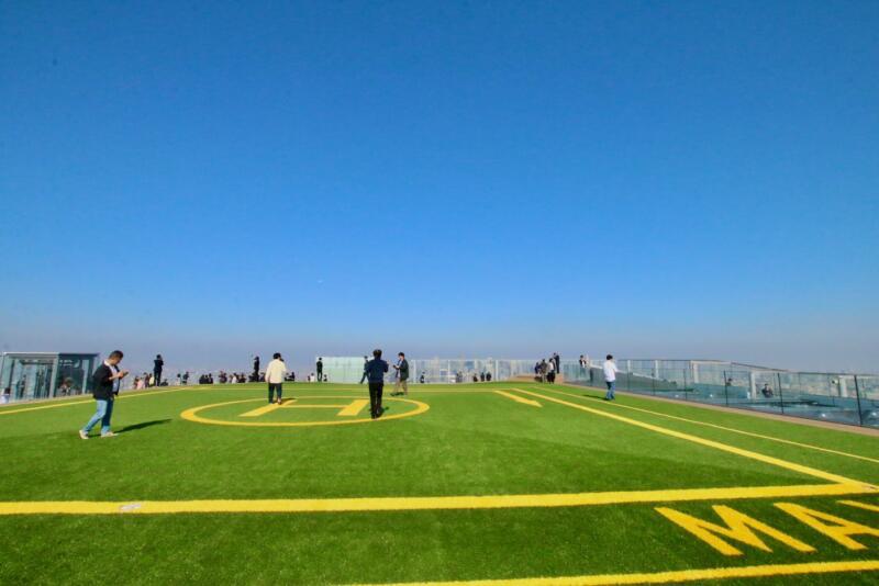 渋谷スクランブルスクエアの展望台・SHIBUYA SKY(渋谷スカイ)ヘリポート