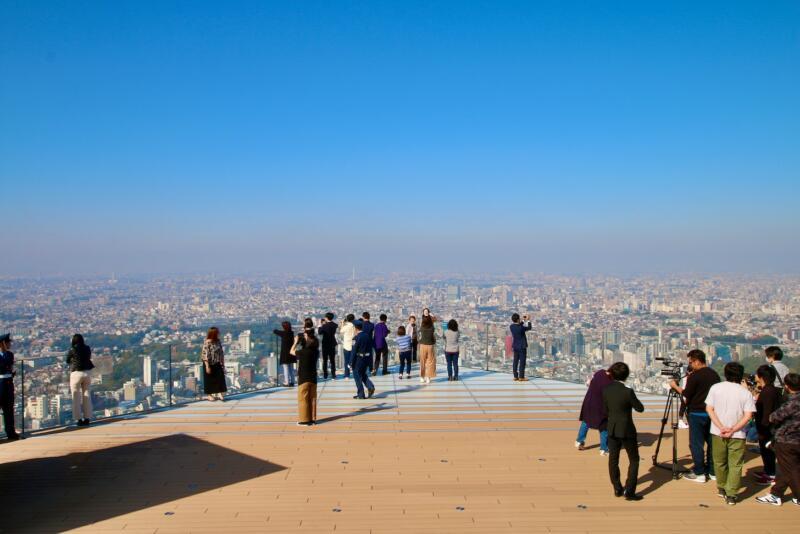 渋谷スクランブルスクエアの展望台・SHIBUYA SKY(渋谷スカイ)からの絶景