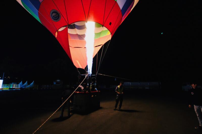 さがみ湖イルミリオン 光の熱気球