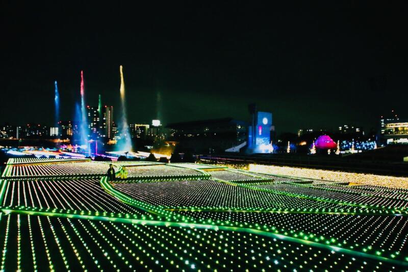 大井競馬場「TOKYO MEGA ILLUMINATION」