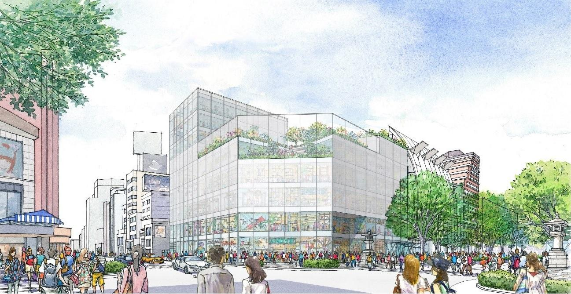 2023年に神宮前六丁目再開発で新商業施設が誕生