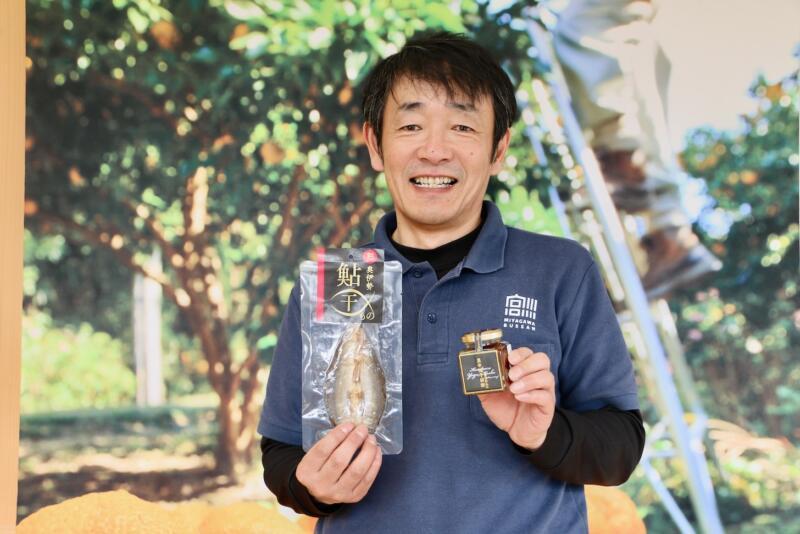「鮎は若い人にも食べてもらいたいですね」と田村工場長