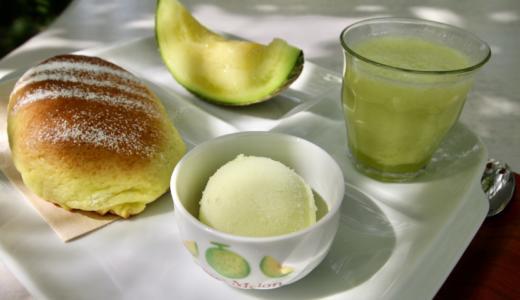 【静岡県袋井市】名倉メロン農場のカフェでメロン三昧のフルコースを楽しんできた