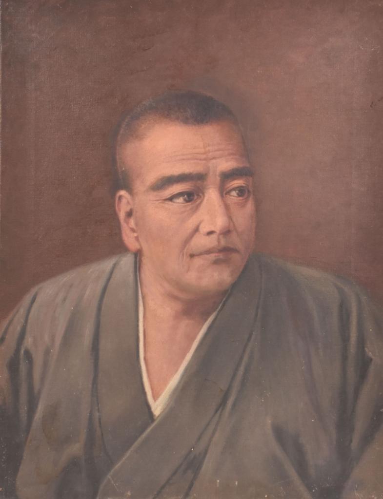 石川静正筆西郷隆盛肖像画 個人蔵