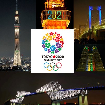 Special highlights of Tokyo attractions for the invitation of the 2020 Tokyo Olympics