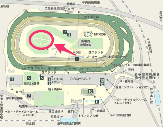 JRA|東京競馬場MAP-2