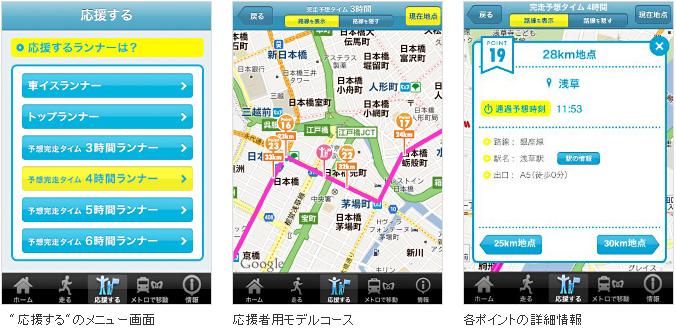 走る人も見る人も!東京マラソンのコースガイドアプリ「Tokyo Runner」