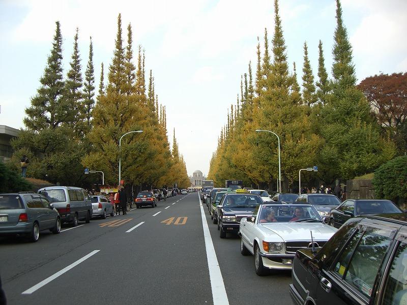 【11/22】神宮外苑のイチョウ並木を歩こう「いい夫婦の日記念ウオーク2015」が開催