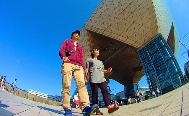 2015年のアイコン写真はこれでいきます(週刊 東京散歩ぽ10/6)