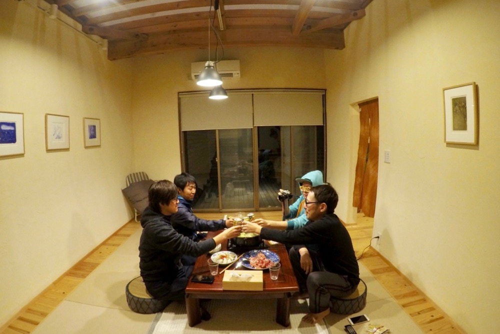 【Accommodation record】 The inn restaurant Matema is a guest house where you can go to SUP in XNUM minutes! We can enjoy star of the sky at night # Odaimachi PR