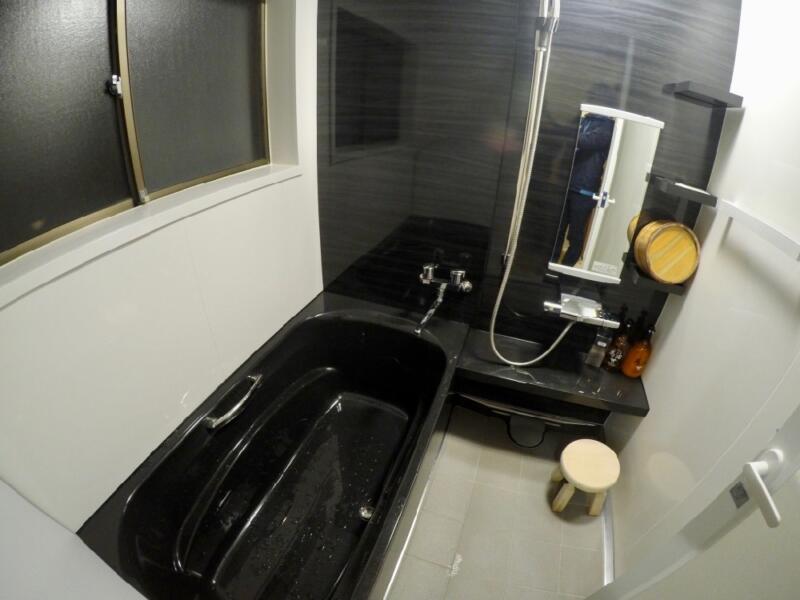 「宿屋まてまて」のバスルーム