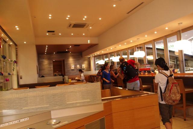 Inside Hakone Cafe Store