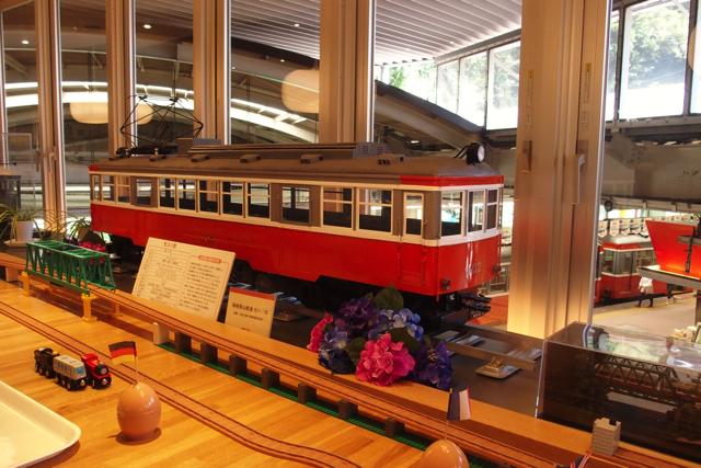 箱根登山鉄道(モハ1形)の模型