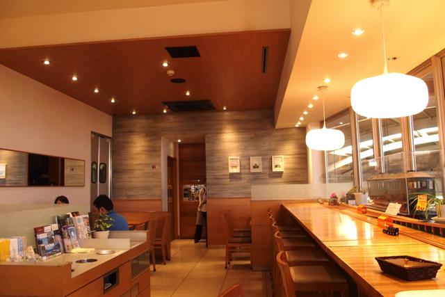 Inside Hakone Cafe Store XNUM X
