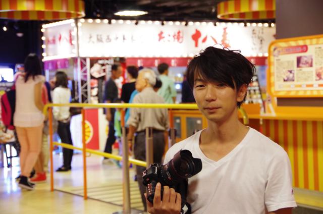 フリーカメラマンTSURUTA MAKOTOさんとお台場海浜公園をインタビューさんぽ