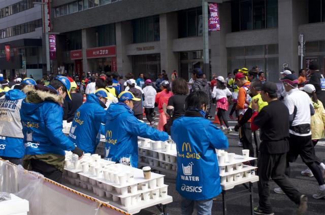 【東京マラソン2014 ボランティアレポート】サポートしていて気づいたあること
