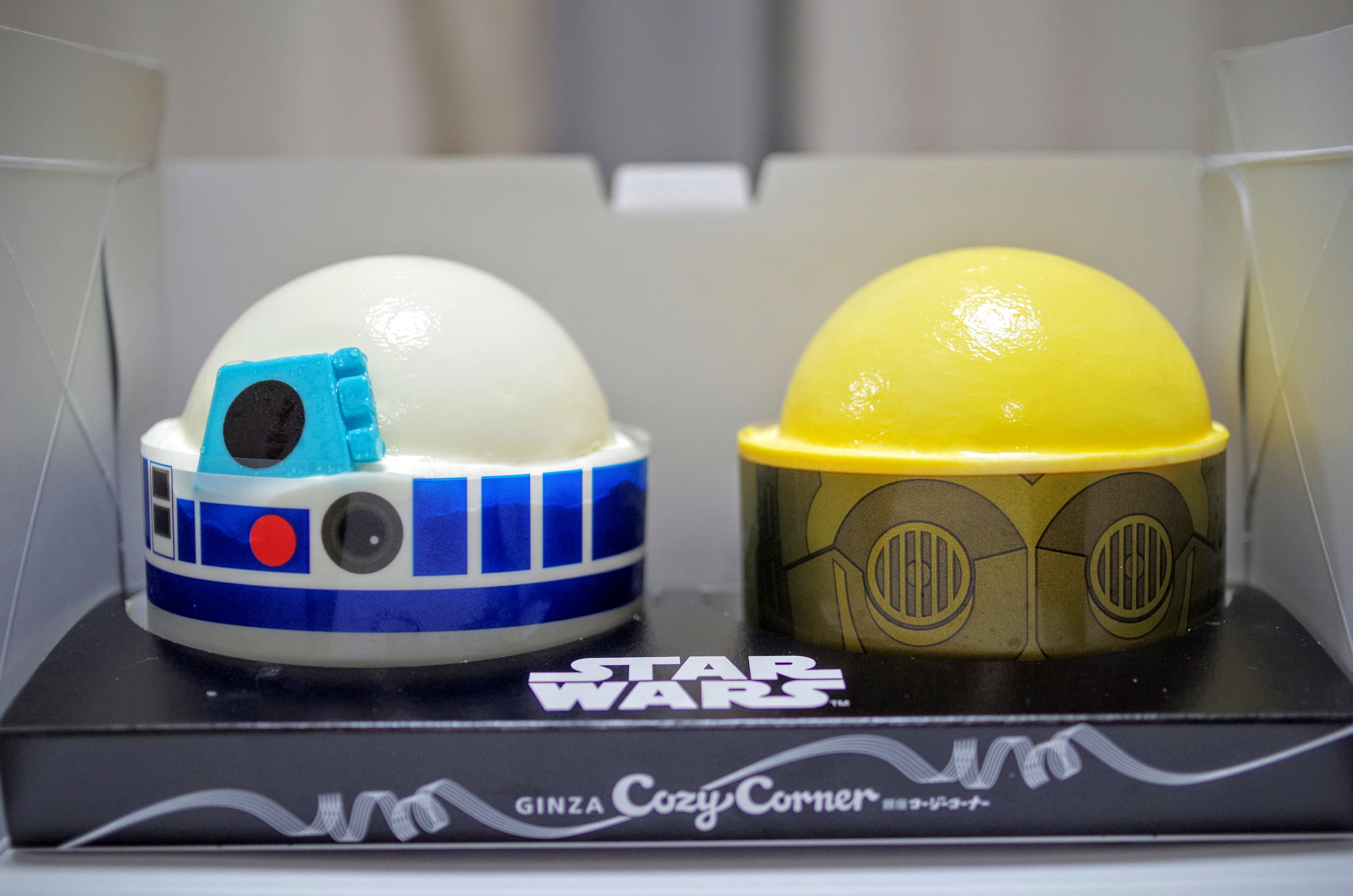 """""""R2-D2&C-3PO""""ケーキセット"""