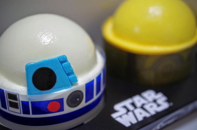 """""""R2-D2&C-3PO""""のケーキセット"""