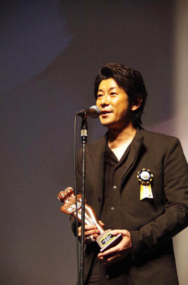 永瀬正敏「樹木さんとはこれからの作品全部で共演したい」最優秀男優賞【第7回TAMA映画賞授賞式⑦】