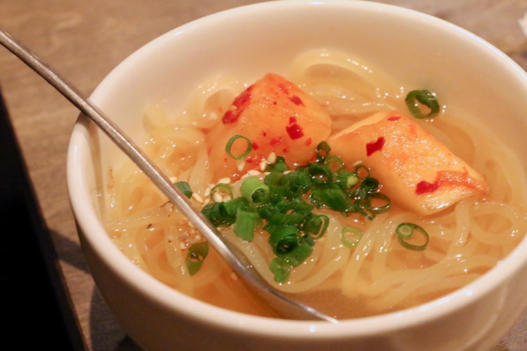 ハーフ特製冷麺
