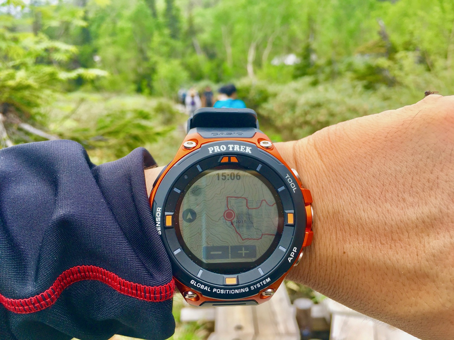 "Casio ""PRO TREK Smart WSD-F20"" and YAMAP have been linked to trek and has been trekking # Outdoor Ambassador # Protolec Smart"