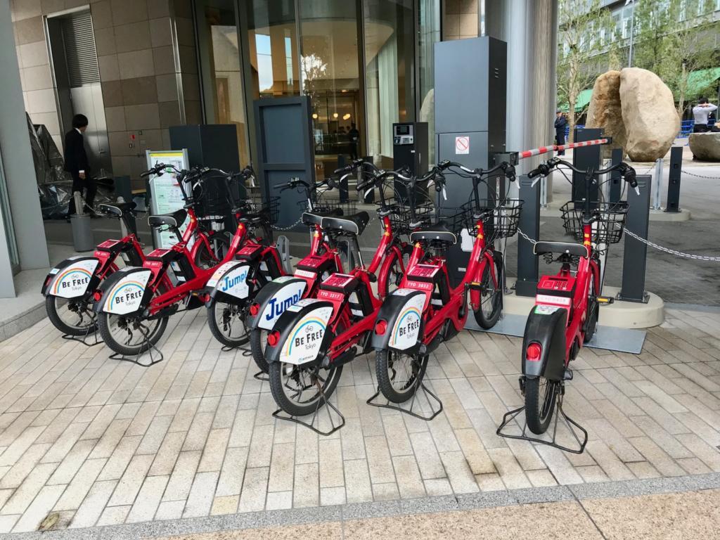 千代田区のコミュニテイサイクル「ちよくる」のサイクルポートも