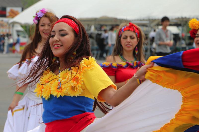 Latin stage performance! Cinco de Mayo 2016 Tokyo [PR]