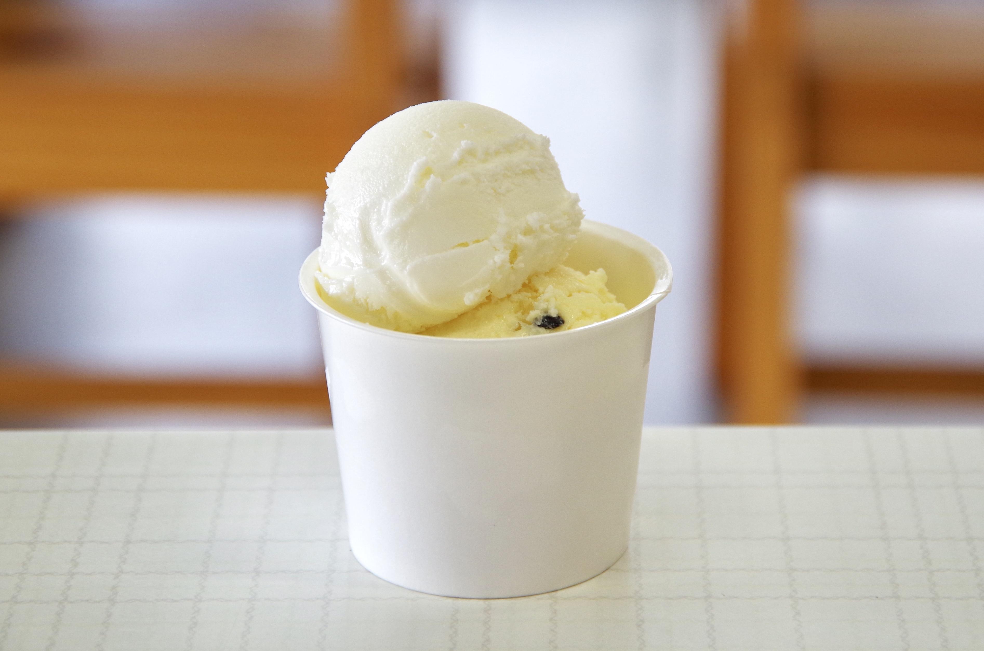 【伊豆大島】ぶらっとハウスのアイスで地元の食材を味わう