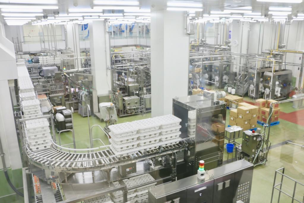 グリコピアCHIBA工場見学