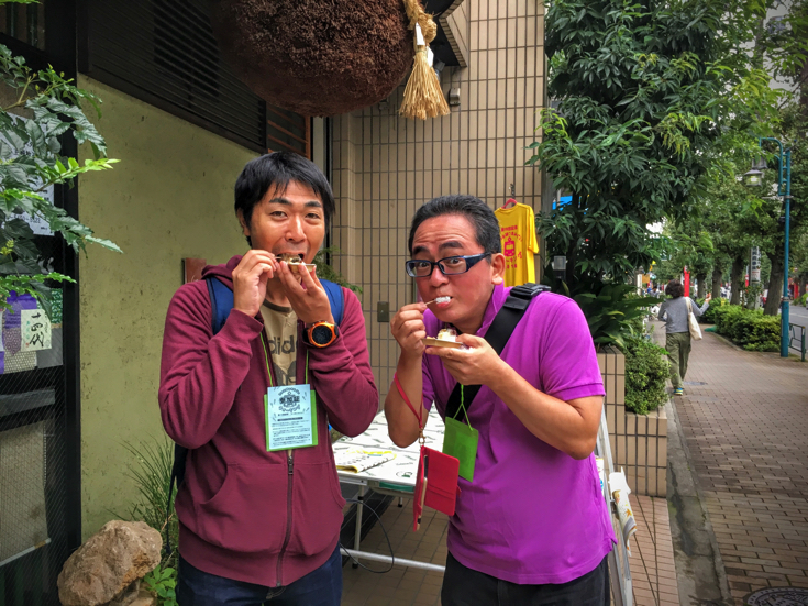"The story which participated in the 10 commemorative ""Setagaya line thumb walking walking 2016"""