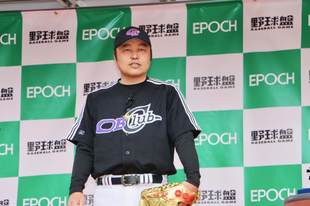 野球解説者の佐野慈紀さん登場