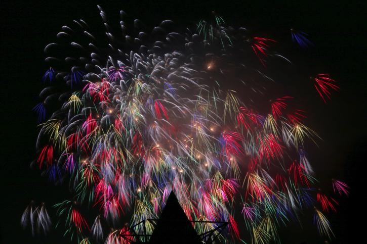 【2016神宮外苑花火大会】をCanon EOS70Dで撮ってきました