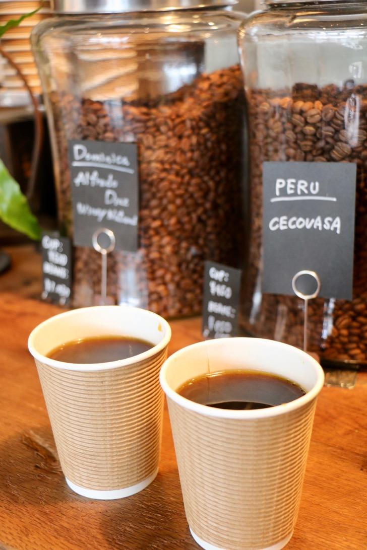 清澄白河「ARiSE COFFEE ENTANGLE」でエチオピアのハンドドリップコーヒーをいただく