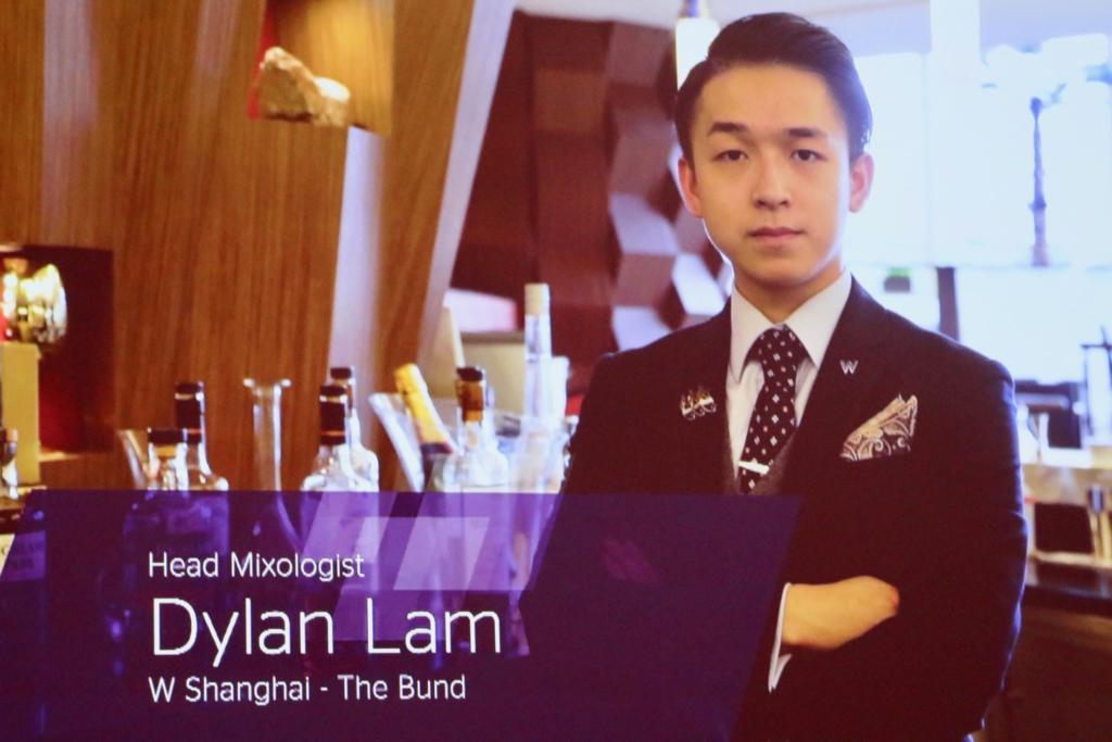 「W HOTEL 上海」のヘッドミクソロジスト、ディラン・ラム(DYLAN LAM)さん