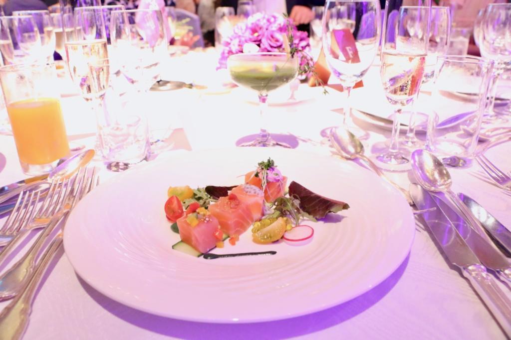 4種のテースト シトラス風味のサーモンマリネ(ウェスティンホテル東京)