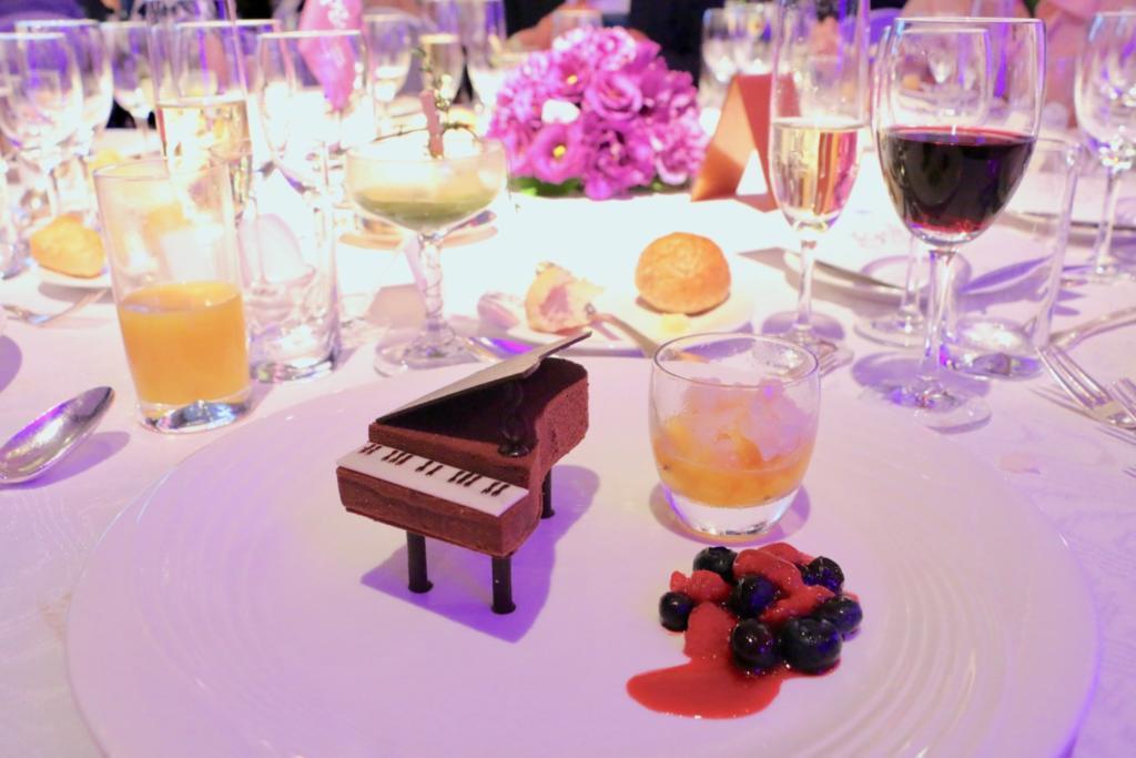 ヘーゼルナッツとチョコレートのムース(ウェスティンホテル東京)